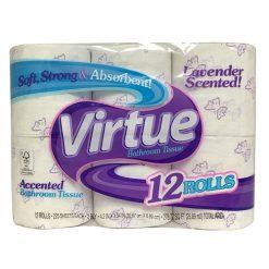 Virtue Bath Tissue 12pk Lavender 225ct