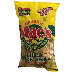 Macs Pork Skins 3oz Original
