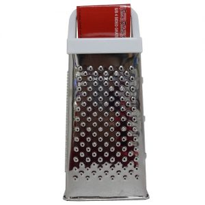 Grater 4 Sided Stainless Steel