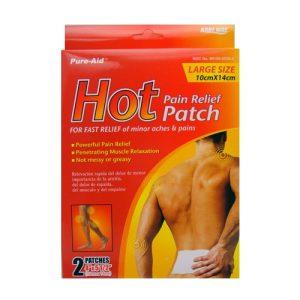 P.A Hot Patch 2pk 4X5.5in