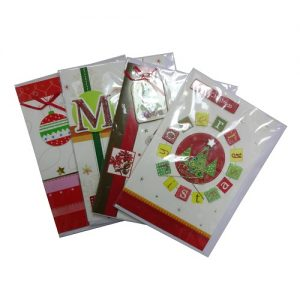 X-Mas Cards 3D Hand Made Asst English