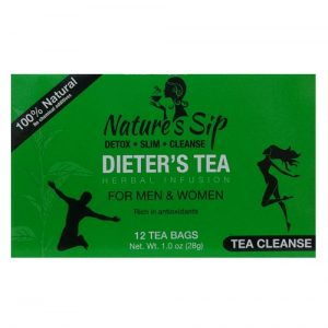 Nature s Sip Dieters Tea 12ct Bags