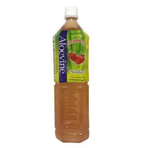 Aloevine Strawberry 1.5 Ltrs W-Aloe