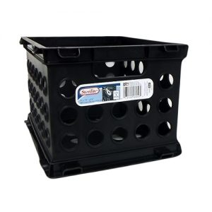 Sterilite Mini Crate Black