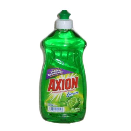 Axion Dish Liq 400ml Lemon