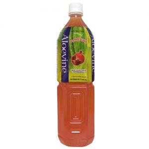 Aloevine 1.5 Ltr Pomegranate Drink W-Alo