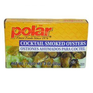 Polar Cocktail Smkd Oysters 3oz