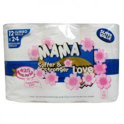 Mama Love 425ct Bath Tissue 12pk