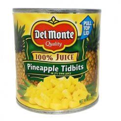 Del Monte Pineapple Tidbits 15? oz