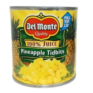 Del Monte Pineapple Tidbits 15? oz