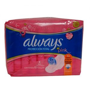 Always Maxi Pads 10ct Pinkcess Design