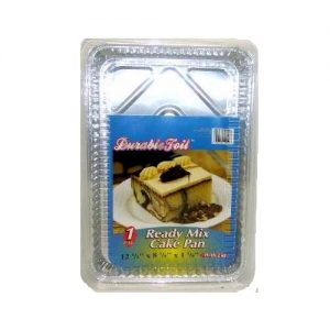 D. Foil Ready Mix Cake Pan 1pc