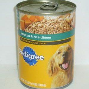 Pedigree 13.2oz Chicken AND Rice Din