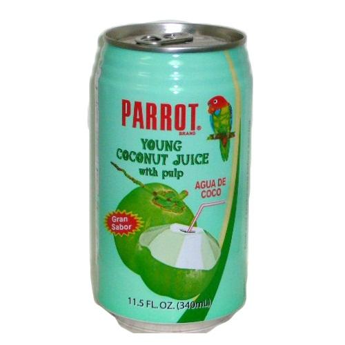 Parrot Coconut Juice W-Pulp 11.5oz
