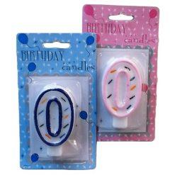 Numeric Birthday Candle #0