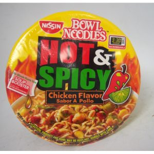 Nissin Bowl Hot-Spicy Chick 3.32oz