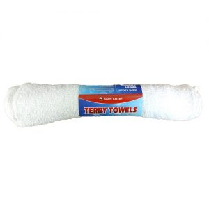 Bar Mop Towels White 3pc