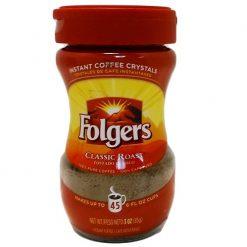 Folgers Instant Coffee 3oz Reg