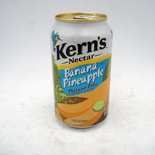 Kerns Nectar Banana Pineapple 11.5oz