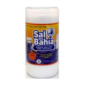 Sal Bahia Sea Salt Fine 26oz Iodized