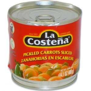 La Coste?a Pickled Carrots Sliced 14.1oz