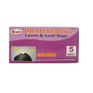 Ri-Pac Drawstring Lawn-Leag Bags 5c 39gl