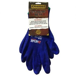 Diesel Blue Gloves X-Lg Extreme Duty