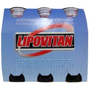 Lipovitan 3.3oz Energy Formula Original