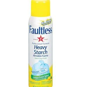 Faultless Spray Starch 20oz Lemon