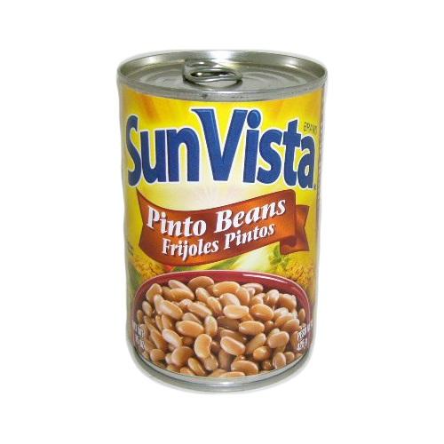 Sun Vista Pinto Beans 15oz Whole