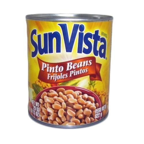 Sun Vista Pinto Beans 29oz Whole