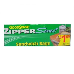 G.S Zipper Seal 35ct Sandwich Bags