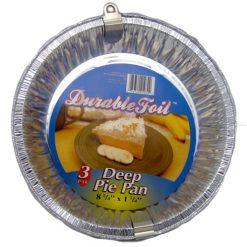 D. Foil Deep Pie Pan 3pk