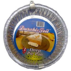 D. Foil Deep Pie Pan 3pk