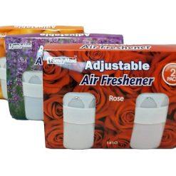 Air Freshener 2pc Adjustable Asst Scents