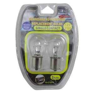 Auto Bulbs 12V 21W #1156 Single Contact