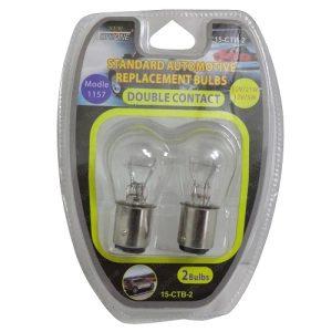 Auto Bulbs 12V 21W #1157 Dbl Contact