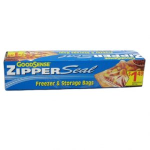 G.S Zipper Seal 12ct GL Freezer Storage