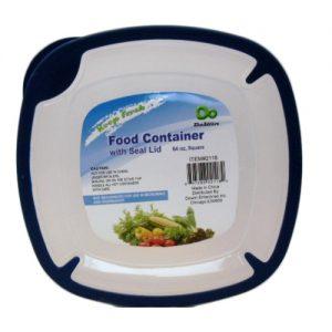 Food Storage Container 64oz Square