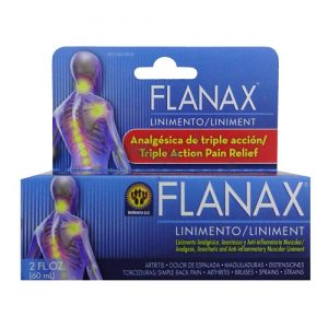 Flanax Liniment Pain Relief 2oz