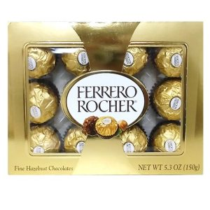 Ferrero Rocher Choc 12pc 5.3oz