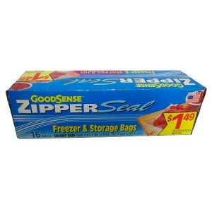 G.S Zipper Seal 16ct Freezer AND Storage B