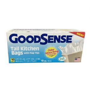 G.S Tall Kitchen Bags 10ct 13 Gl Fresh S