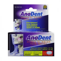Anadent Tablets 24ct Pain AND Fever Relief