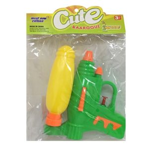 Toy Water Gun W-Dbl Barrel 1pc Asst