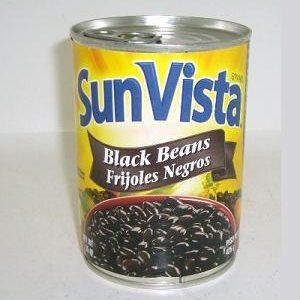 Sun Vista Black Beans 15oz Whole