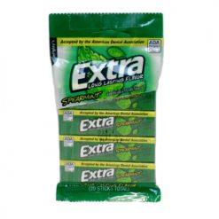 Extra Gum 4pk SPEARMINT Gum 5pc