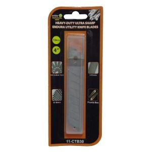 Endura Utility Knife Blades 10pc 4in HD