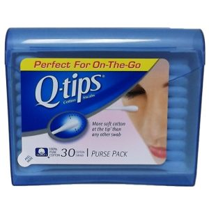 Q-Tips Purse Pack 30ct Blue And Pink
