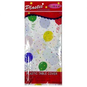 Table Cover Confetti Birthday 54X108in